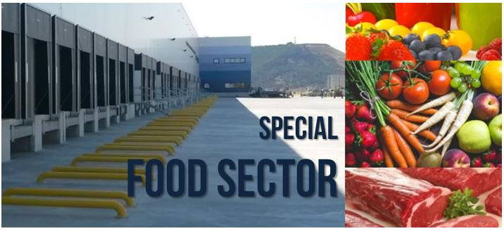 Special Food: All the necessary for the loading and unloading of food.